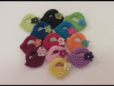 Mini Crochet Bag : ?????? ???? ????? Crochet Mini Bag?? - YouTube