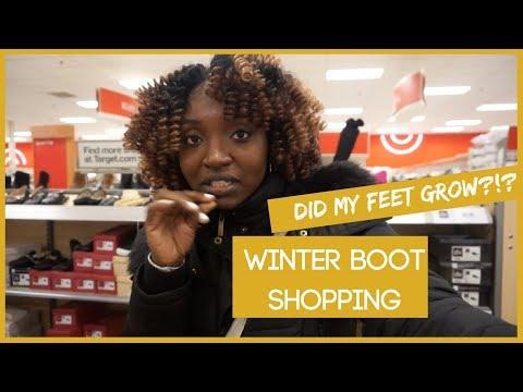 Winter Boot Shopping + Did My Feet Grow?!? | VLOGMAS