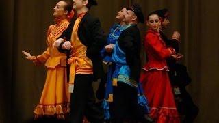 танец кадриль с фигурами