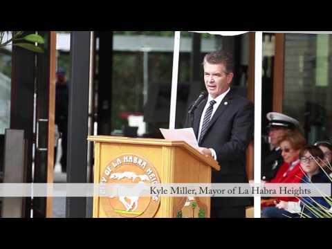 Hacienda Fire Memorial Dedication Ceremony