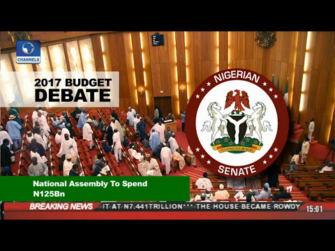News Across Nigeria: National Assembly Passes 2017 Budget