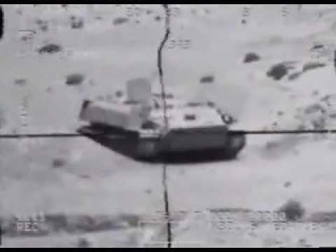 Super Huey Cobra Helicopter Gunship In Iraq