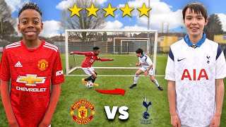 10 Year Old Kid RASHFORD vs 10 Year Old Kid HEUNG MIN SON 손흥민.. AMAZING Football Competition