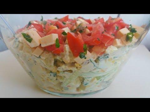 легкий капусты рецепт ужин фото с из салат на