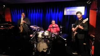 """Jack DeJohnette/Coltrane/Garrison, """"Inner Urge"""", Nov. 3rd, 2014, Jazz Club Hannover (Germany)"""
