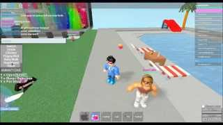 roblox how to do animation on girls and boys hangout and secrete place made by jorouz tiu