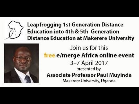 Leapfrogging  Distance Education into Fourth and Fifth Generation at Makerere University