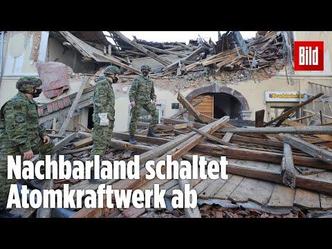 Schweres Erdbeben in Kroatien erschüttert die Hauptstadt Zagreb