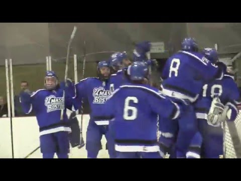 2016 NCAA Quarterfinals: #6/7 UMass Boston Men