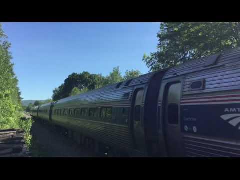 Railfanning Milton, Vermont - June 2017