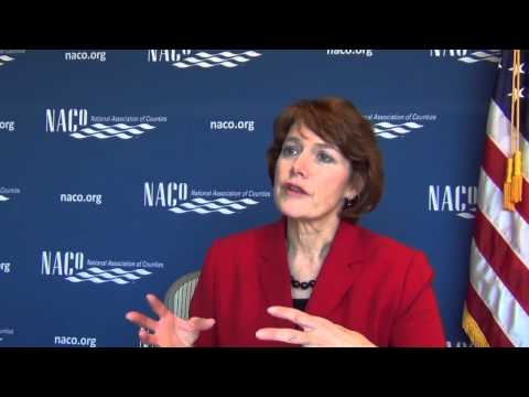 "NACo First VP Sallie Clark discusses ""waters of the U.S."" proposal"