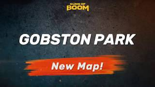 Guns of Boom - New Map: Gobston Park