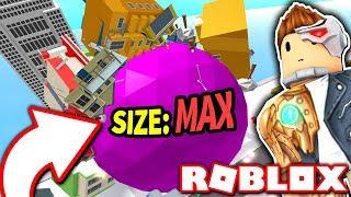 REACHING MAXIMUM BOULDER SIZE in BOULDER SIMULATOR!! *Biggest Boulder Ever!* (Roblox)