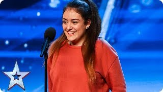 Download Amy Marie Borg SHOCKS everyone with INCREDIBLE voice! | Auditions | BGT 2018 Mp3 and Videos