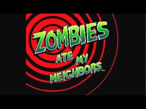 Zombies Ate My Neighbors OST - Weird Kids on the Block