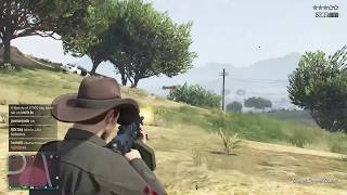 GTA5, Killing Players, Full Day Gun Battle (old clip + party chat) Ep1 Pt4