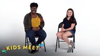 Kids Meet a Person Living with HIV | Kids Meet | HiHo Kids