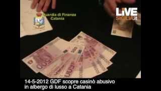 finanza scopre casinò in albergo di lusso a Catania