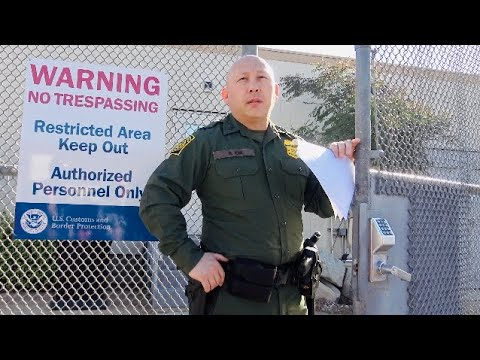 Border Patrol Called On Us To Gets Us ID Snitch Gets Educated & Put In Check-1st Amendment Audit