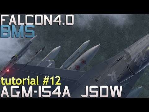 Falcon 4 BMS 4.33 Tutorial 12 AGM-154A JSOW vs 2 mechanised columns