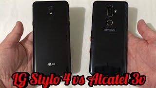 LG Stylo 4 vs Alcatel 3v Speed Test Comparison