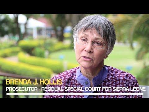 'Dialogues on International Criminal Justice: Brenda J. Hollis - Special Court for Sierra Leone
