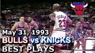 1993 Bulls vs Knicks game 4 HD highlights Video