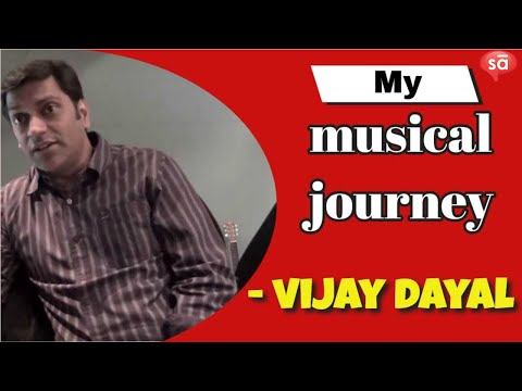 The musical journey of sound engineer, Vijay Dayal
