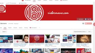 Menyembunyikan Jumlah SubScribers Channel YouTube