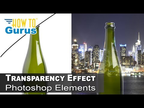 Photoshop Transparency : How to Transparent Effect on Bottle in Photoshop CC 2017 CS6 CS5 Tutorial