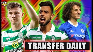 Man United £100m deadline day BIDS! Kieran Tierney DONE DEAL! David Luiz to Arsenal! Transfer Daily