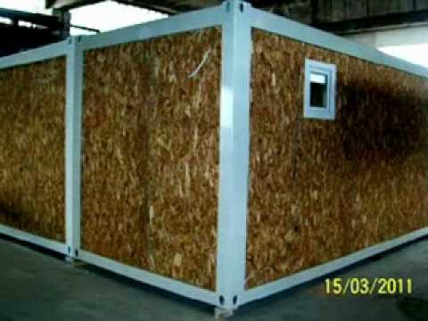 Case containerizate modulare metal building ltd youtube for Case modulare