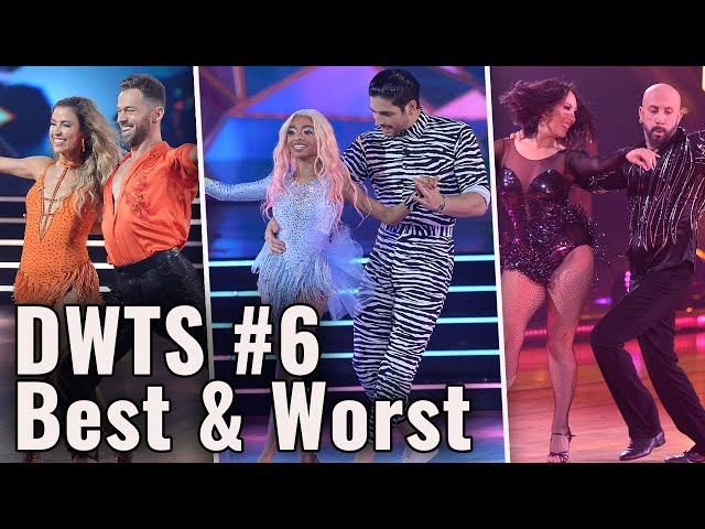 REACTING to the Best & Worst of Dancing With The Stars Week #6