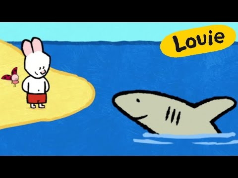 Shark - Louie Draw Me A Shark | Learn To Draw, Cartoon For Children