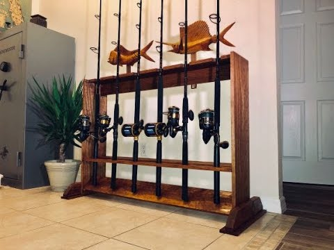 How To Make A Fishing Rod Rack: DIY Rod Rack