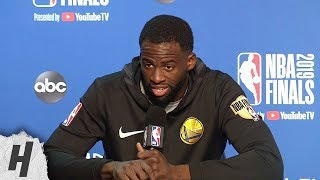 Draymond Green Full Interview - Game 4 Preview | 2019 NBA Finals Media Availability