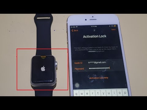 How do you reset an apple watch that is not paired