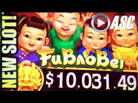★G2E 2017 AGS NEW SLOTS PREVIEW!★ FU BAO BEI & MONEY CHARGE JACKPOTS Slot Machine Bonus