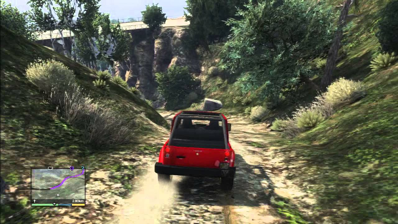 Best Jeep Exp 201 Dition Forest Gta 5 Crash And Stunt Youtube