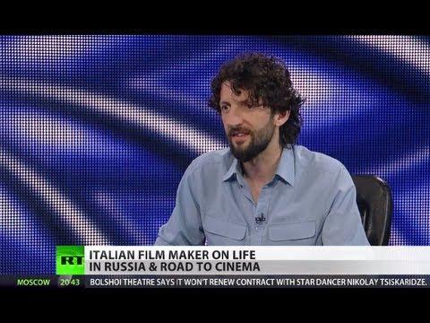 Italian film maker on life in Russia & road to cinema