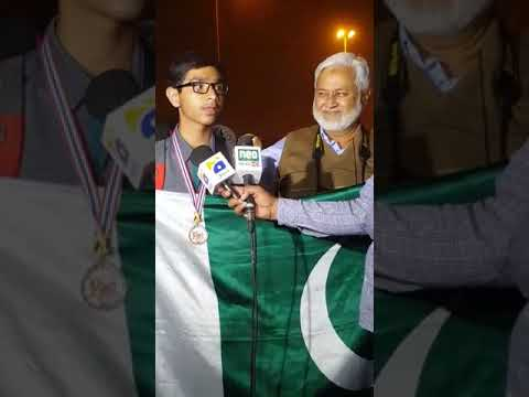 Pakistani student scores gold at international math competition.01