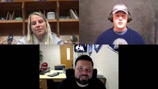 Interview with SWOSU volleyball coach Josh Collins and freshman Lacy Mott | The Southwestern