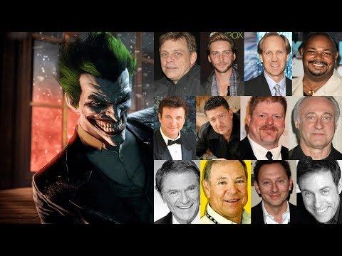 "Characters Voice Comparison - ""The Joker"""