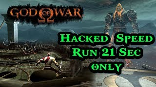 God of War Hacked Speed Run ( 21 sec ) Only