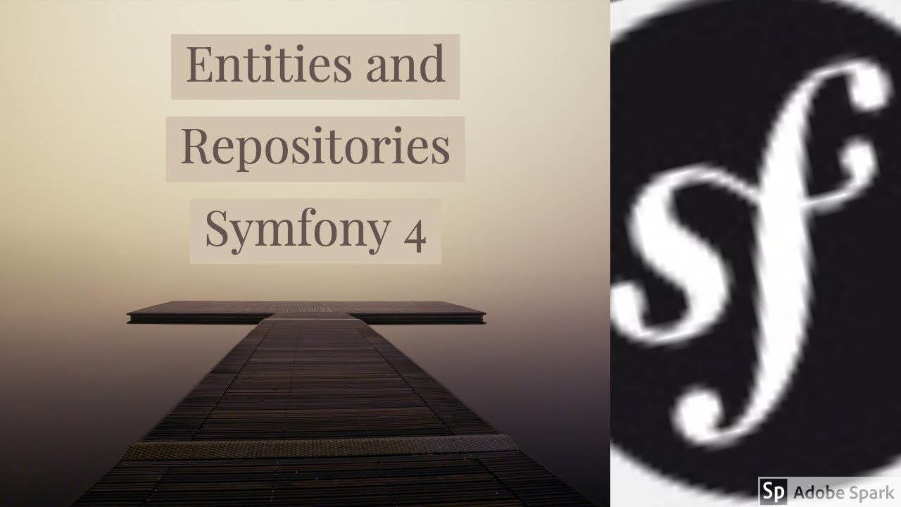Symfony 4 Entities and Repositories