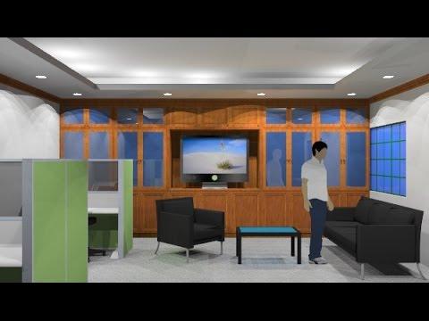 Rekabentuk Dalaman Pejabat Masjid Al Hidayah Yen 18 Shah Alam You
