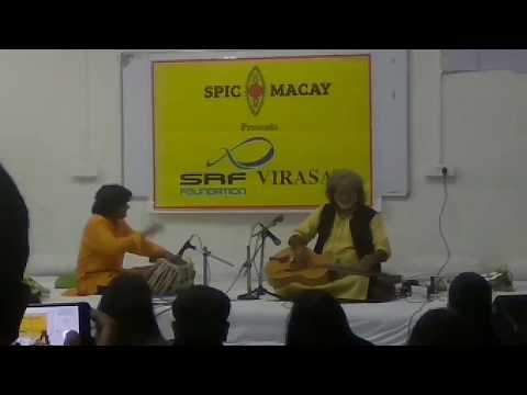 Soulful Indian Classical Music by Vishwa Mohan Bhatt at School of Planning and Architecture, Bhopal