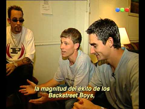 Jime entrevista a los Backstreet Boys - Versus