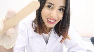 ASMR |  GREEK Cranial Nerve Exam (role play)