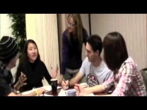 Conversation Class - part 1. CSLI, English Language school in Vancouver, Canada